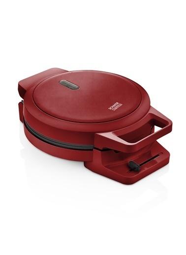Schafer Waffeln Waffle Makinesi Kırmızı Kırmızı